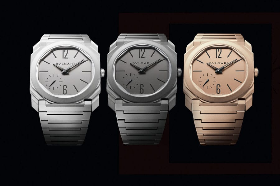 Bulgari_ Octo Finissimo Automatic Sandblasted