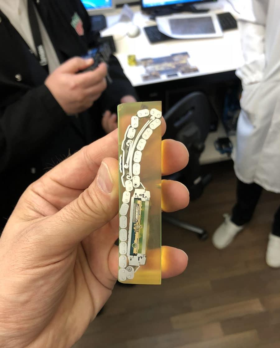 Chronos Leserreise 2018- Querschnittmodell bei TAG Heuer