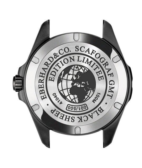 Eberhard & Co.: Der Scafograf GMT Black Sheep ist auf 500 Stück limitiert