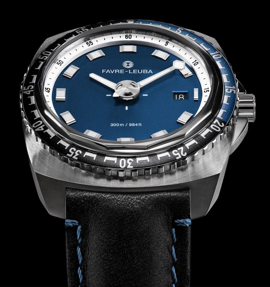 Favre-Leuba: Raider Deep Blue