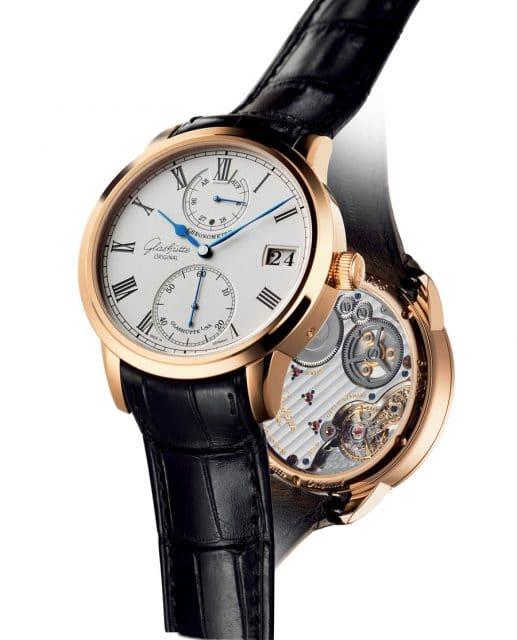 Die Senator Chronometer steht in der Tradition der Glashütter Taschenuhren