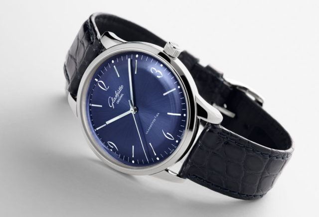 Glashütte Original: Sixties mit blauem Zifferblatt