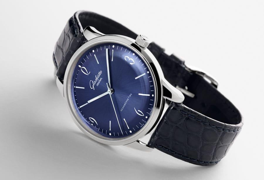 Glashütte Original: Sixties mit blauem Zifferblatt