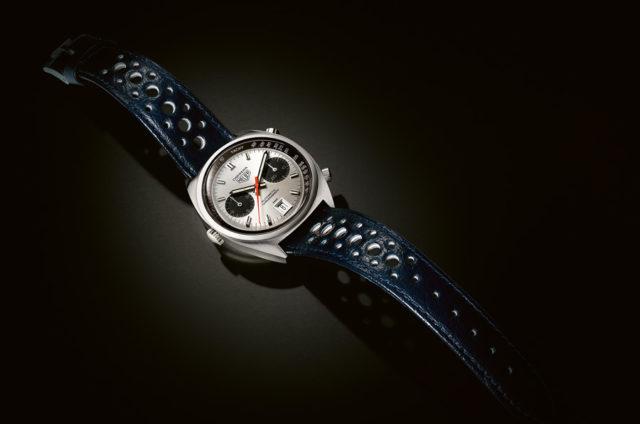 Premiere: Mit dem neuen Kaliber 11 gehörte die Heuer Carrera 1969 zu den ersten Automatikchronographen der Welt.