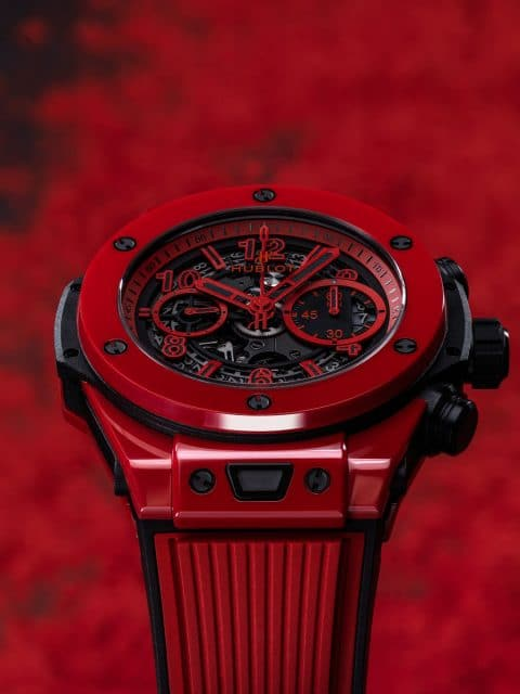 Knallrote Keramik: Hublot Big Bang Unico Red Magic
