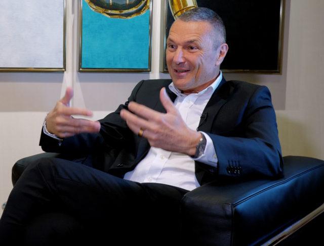 Bulgari-CEO Jean-Christophe Babin auf der Baselworld 2018