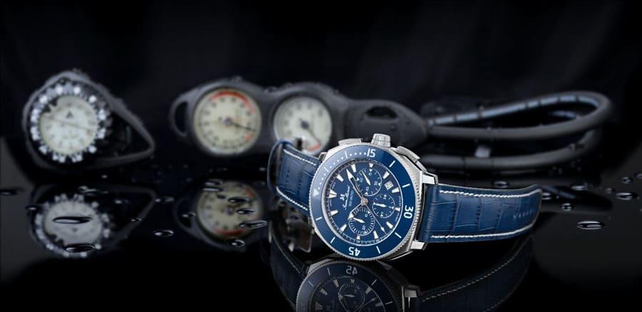 Jean Marcel: Oceanum Chronograph in Blau