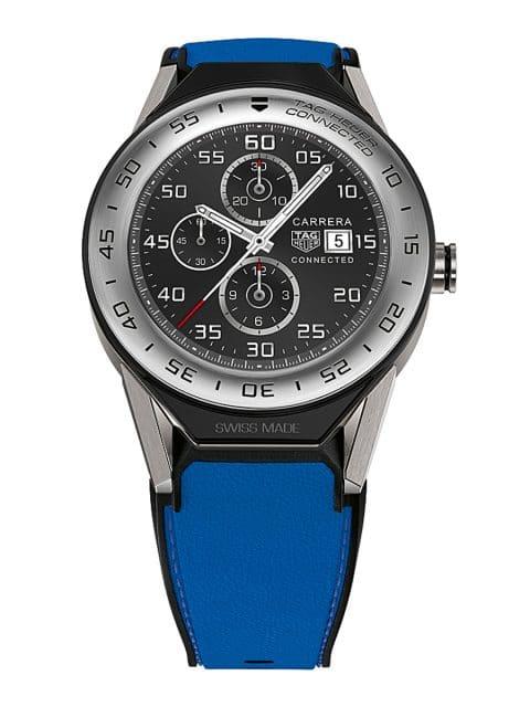 Die Smartwatch Carrera Connected Modular ist das zukunftsweisende Modell der TAG-Heuer-Kollektion.