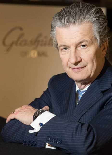 Thomas Meier, CEO von Glashütte Original