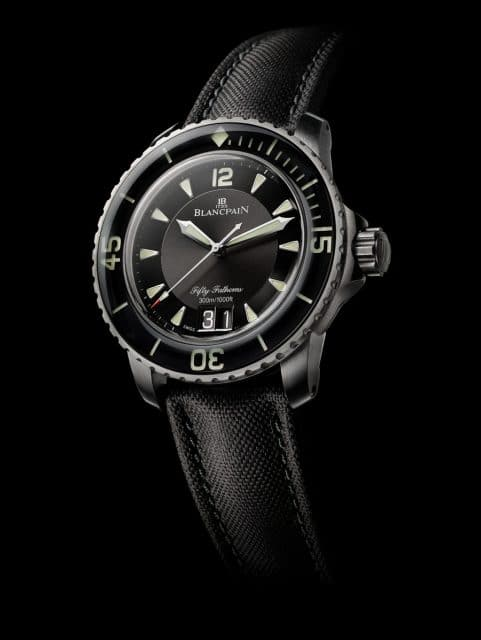 Blancpain: Fifty Fathoms Automatique Grande Date