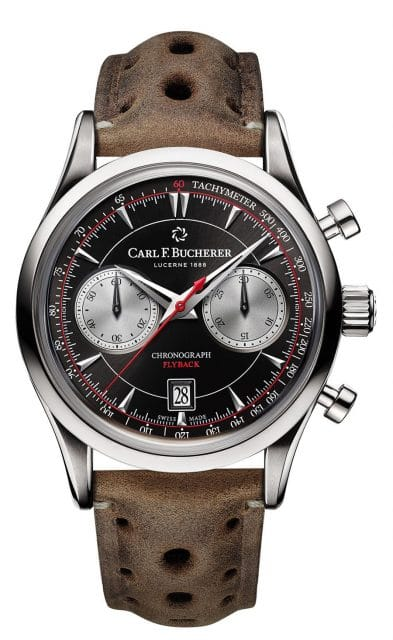 Carl F. Bucherer: Manero Flyback im Retro-Stil
