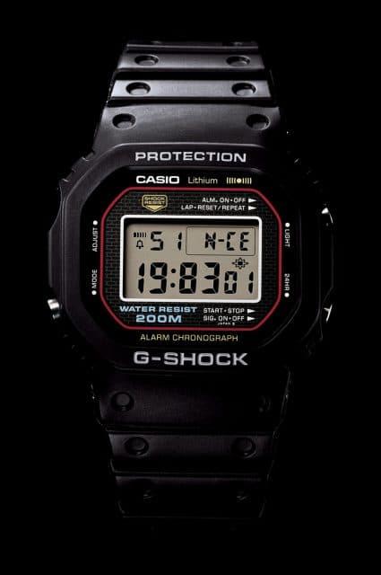 Sie war die Erste: Die Casio G-Shock DW-5000C-1A von 1983