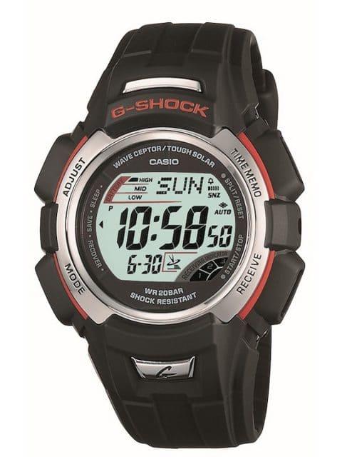 Präzise und energiesparend: Die GW-300 von 2002 ist die erste G-Shock mit Funksignal und Solarbetrieb.