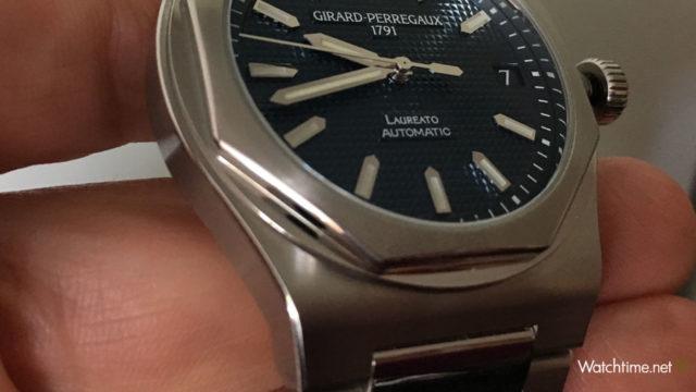 Girard-Perregaux: Integrierter Bandanstoß bei der Laureato 42 mm Automatic