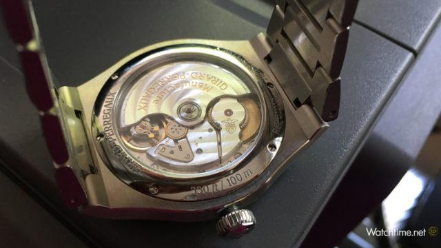 Girard-Perregaux: Laureato 42 mm Automatic mit dem automatischen Manufakturkaliber GP01800-0008