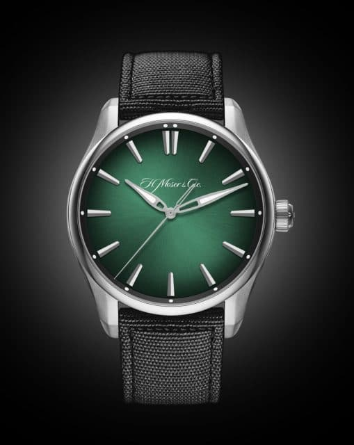 H. Moser & Cie.: Pioneer Centre Seconds Cosmic Green