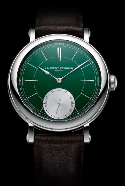 Laurent Ferrier: Galet Micro-Rotor British Racing Green