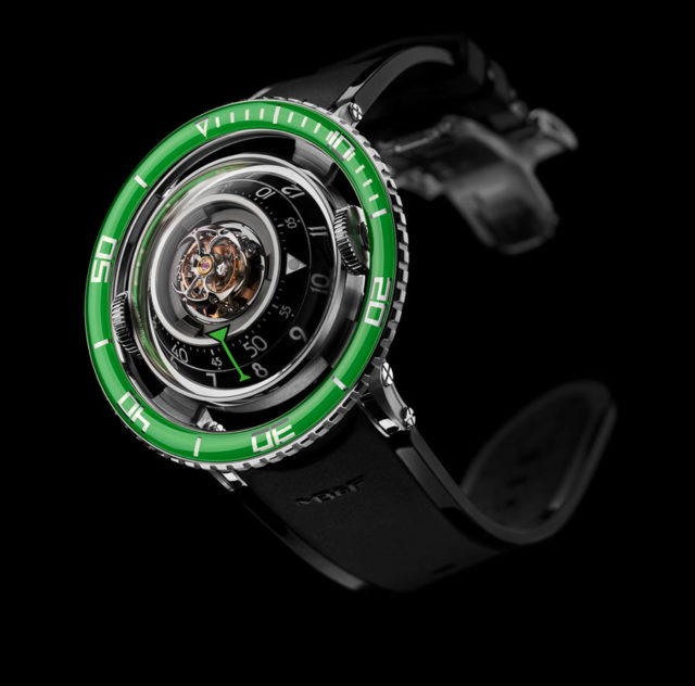 MB&F: HM7 Aquapod in Grün