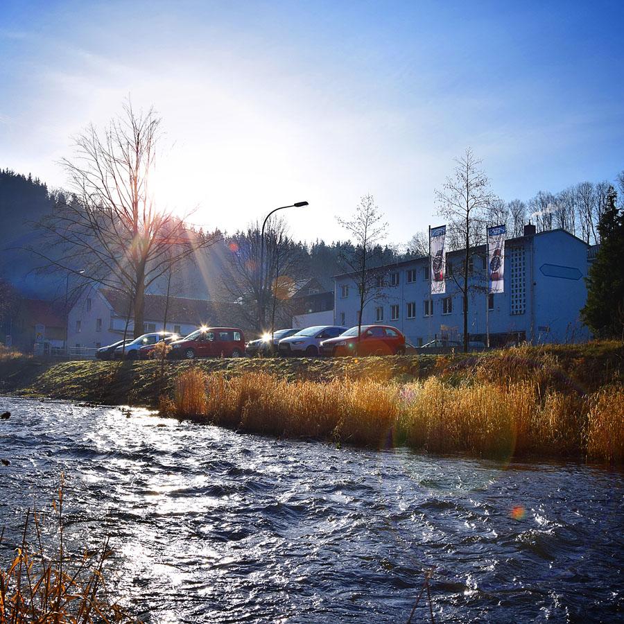 Mühle-Glashütte: Standort