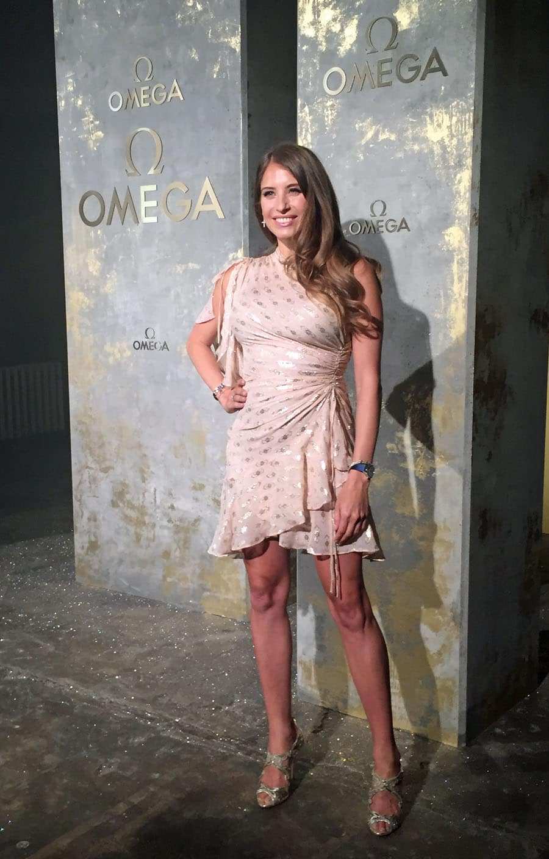 Omega-Event: Launch der neuen Trésor-Kollektion mit Cathy Hummels