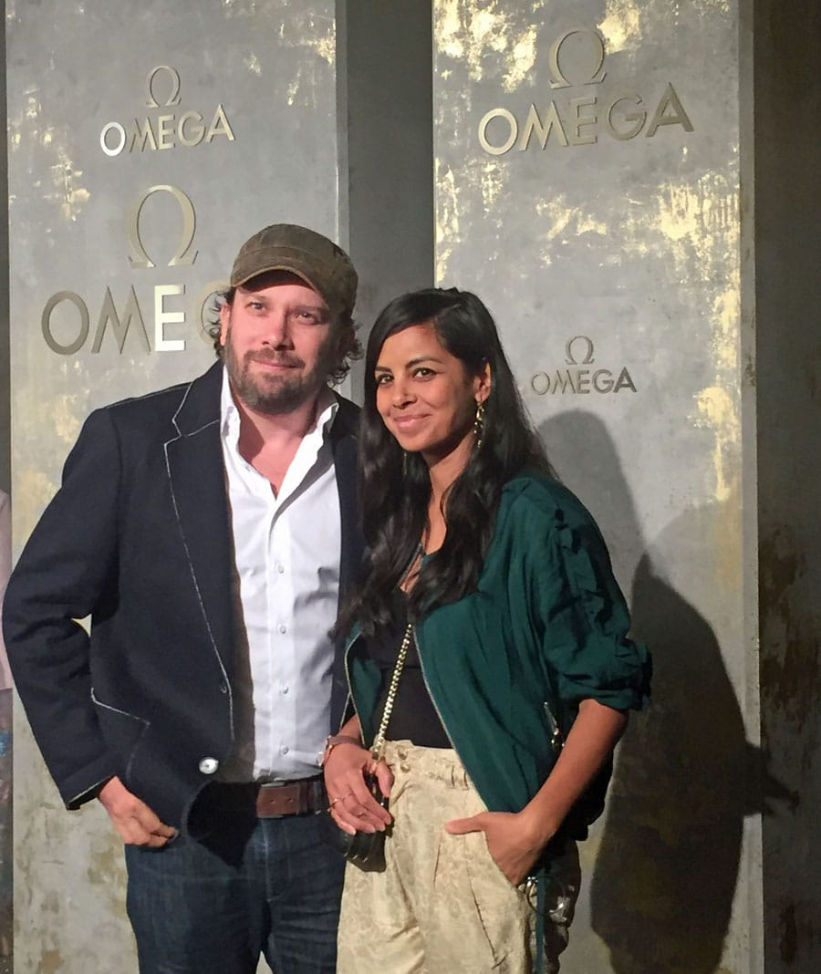 Omega-Event: Launch der neuen Trésor-Kollektion mit Christian Ullmenn und Frau Collien Fernandes Ullmen