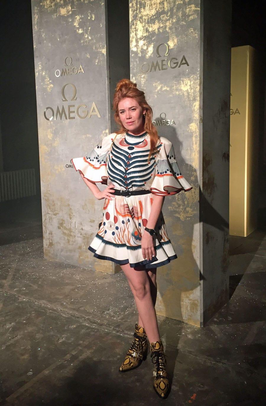 Omega-Event: Launch der neuen Trésor-Kollektion mit Palina Rojinski