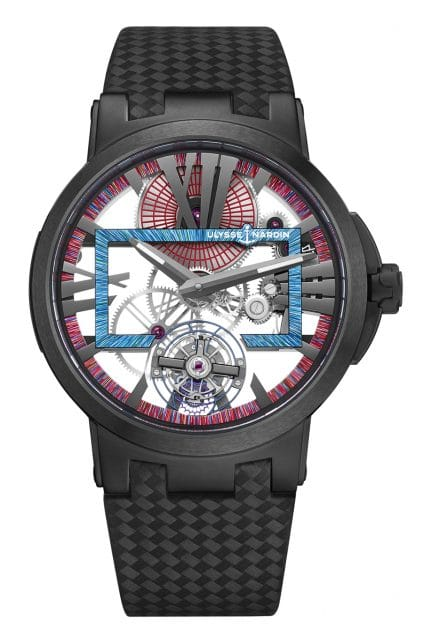 Ulysse Nardin: Executive Skeleton Tourbillon Hyperspace