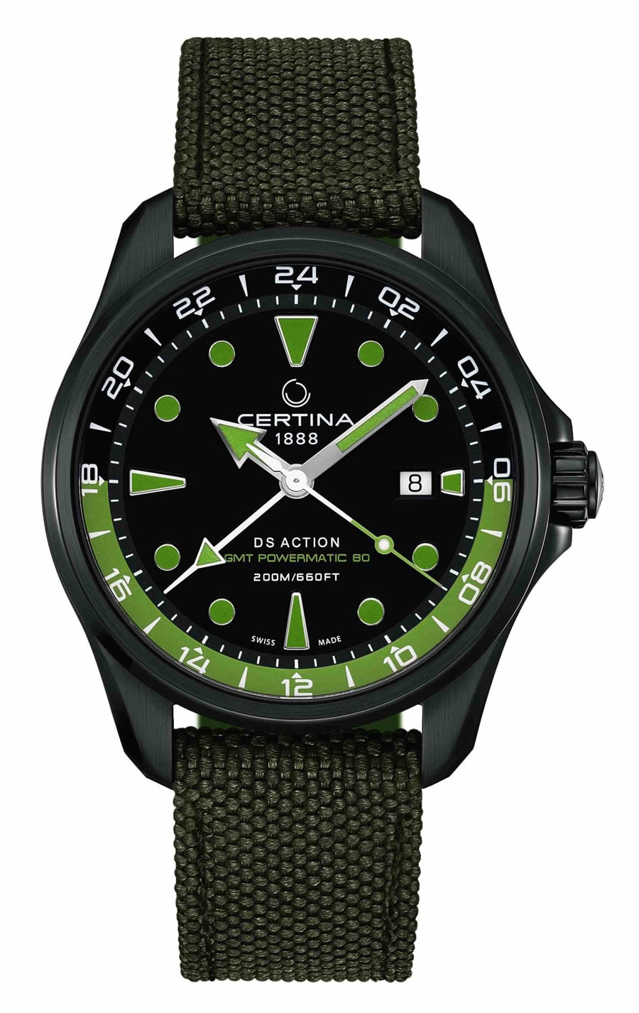 certina-ds-action-gmt-powermatic-80-GMT-Uhren