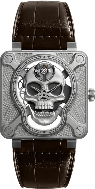 Bell & Ross: BR01 Laughing Skull