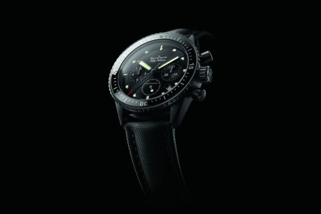 Blancpain: Fifty Fathoms Bathyscaphe Chronograph