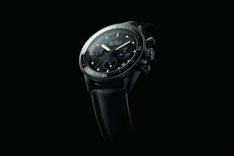 Blancpain: Fifty Fathoms Bathyscaphe Chronograph