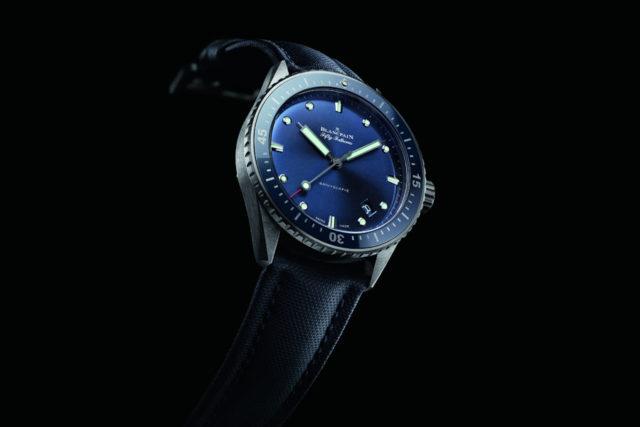 Blancpain: Fifty Fathoms Bathyscaphe blau