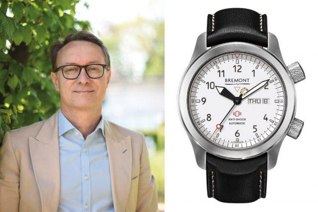 Holger Christmann, Chefredakteur UHREN-MAGAZIN, wählt die Bremont MB II