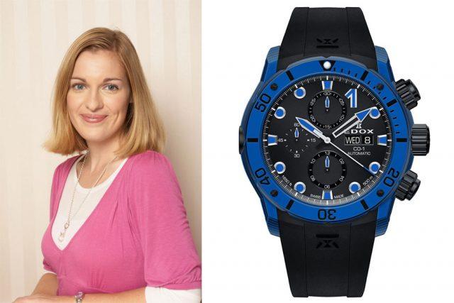 Katharina Studer, Redakteurin Watchtime.net, empfiehlt die Edox CO-1 Carbon Chronograph Automatic