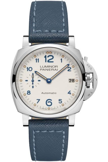 Panerai: Luminor Due 3 Days Automatic Acciaio in 38 Millimeter (PAM00903)