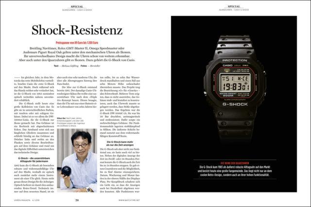 Die G-Shock von Casio ist eine Ikone