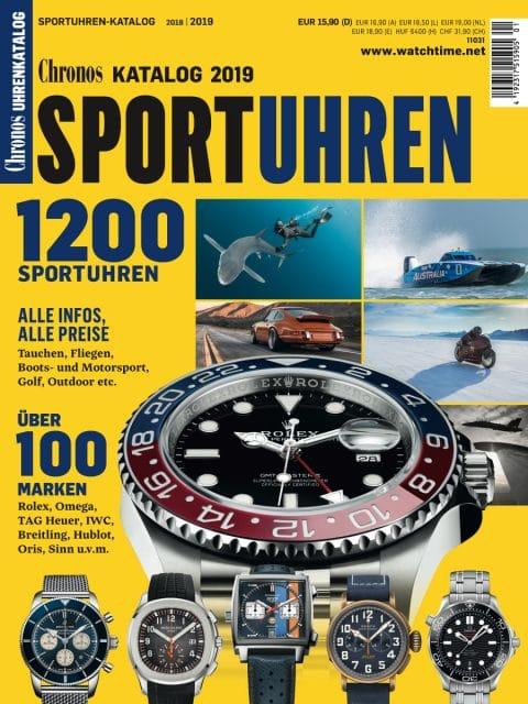 Chronos Sportuhren-Katalog 2018/19 Titel