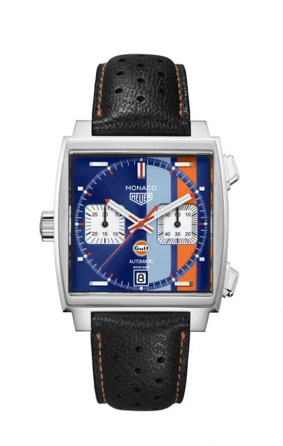 Auf 50 Exemplare limitiert: TAG Heuer Monaco Calibre 11 Special Edition Gulf 50th Anniversary