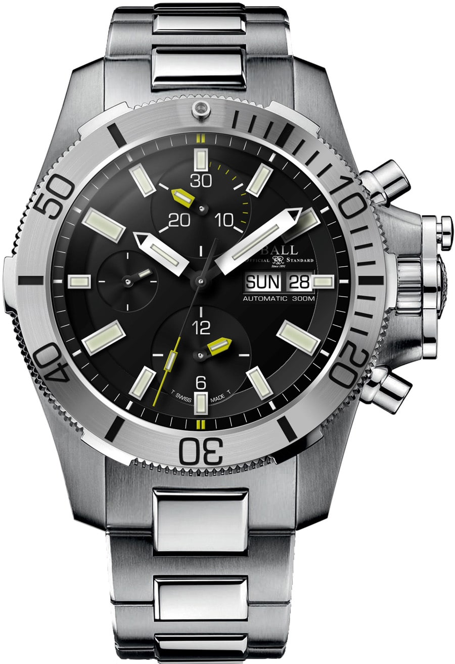 Ball Watch: Engineer Hydrocarbon Submarine Warface Chronograph