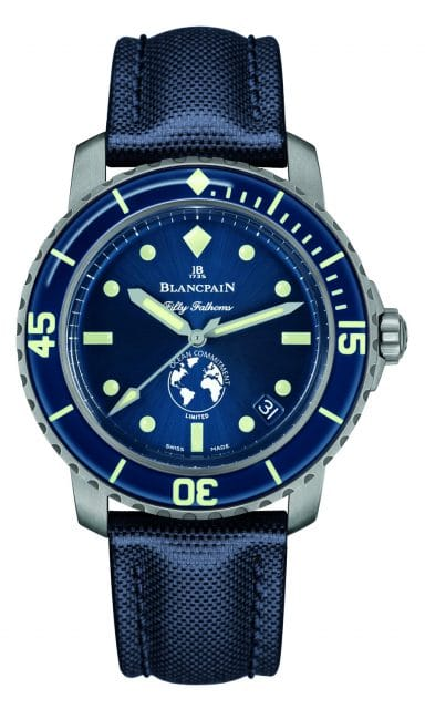 Blancpain: Fifty Fathoms Ocean Commitment III