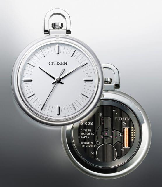 Citizen: Konzept-Taschenuhr Cal.0100