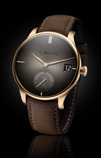 H. Moser & Cie.: Venturer Big Date Purity in Rotgold mit Fumé-Zifferblatt