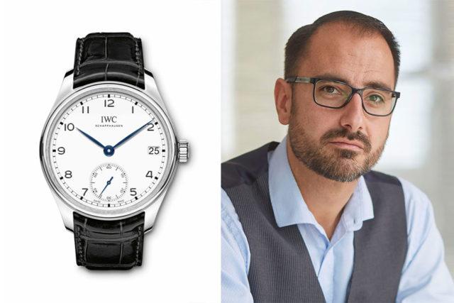 """Alexander Krupp, Chronos-Redakteur, empfiehlt die IWC Portugieser Hand-Wound Eight Days Edition """"150 Years"""""""