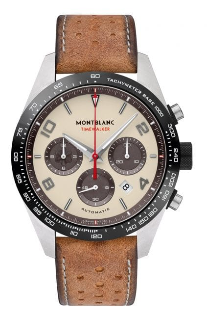 """Montblanc: TimeWalker Manufacture Chronograph Goodwood """"Cappuccino-Edition"""""""