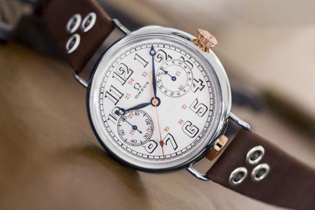 Omega: First Omega Wrist-Chronograph Limited Edition