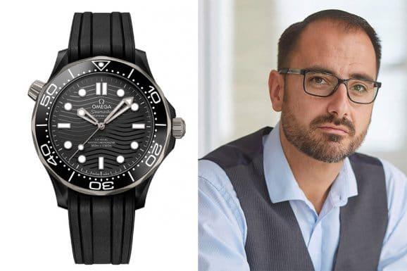 Chronos-Redakteur Alexander Krupp empfiehlt die neue Omega Seamaster Diver 300M aus Keramik und Titan