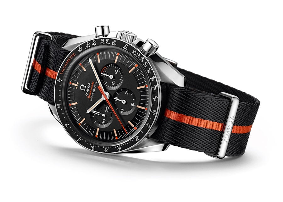 Omega: Speedmaster Speed Tuesday 2 Ultraman Limited Edition seitlich