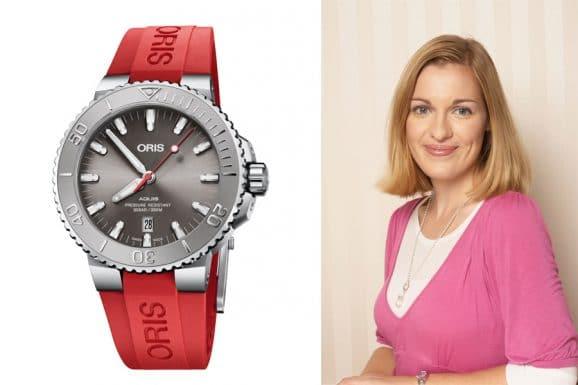 Watchtime.net-Redakteurin Katharina Studer empfiehlt die neue Oris Aquis Date Relief