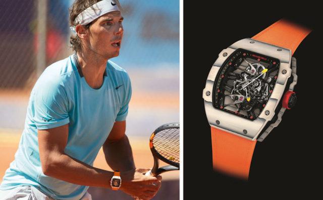 Promis und Uhren: Richard Mille und Rafael Nadal
