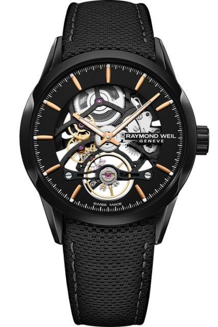Raymond Weil: Die neue Freelancer mit skelettiertem Uhrwerk